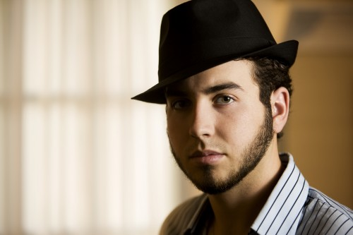 Young-man-in-a-fedora
